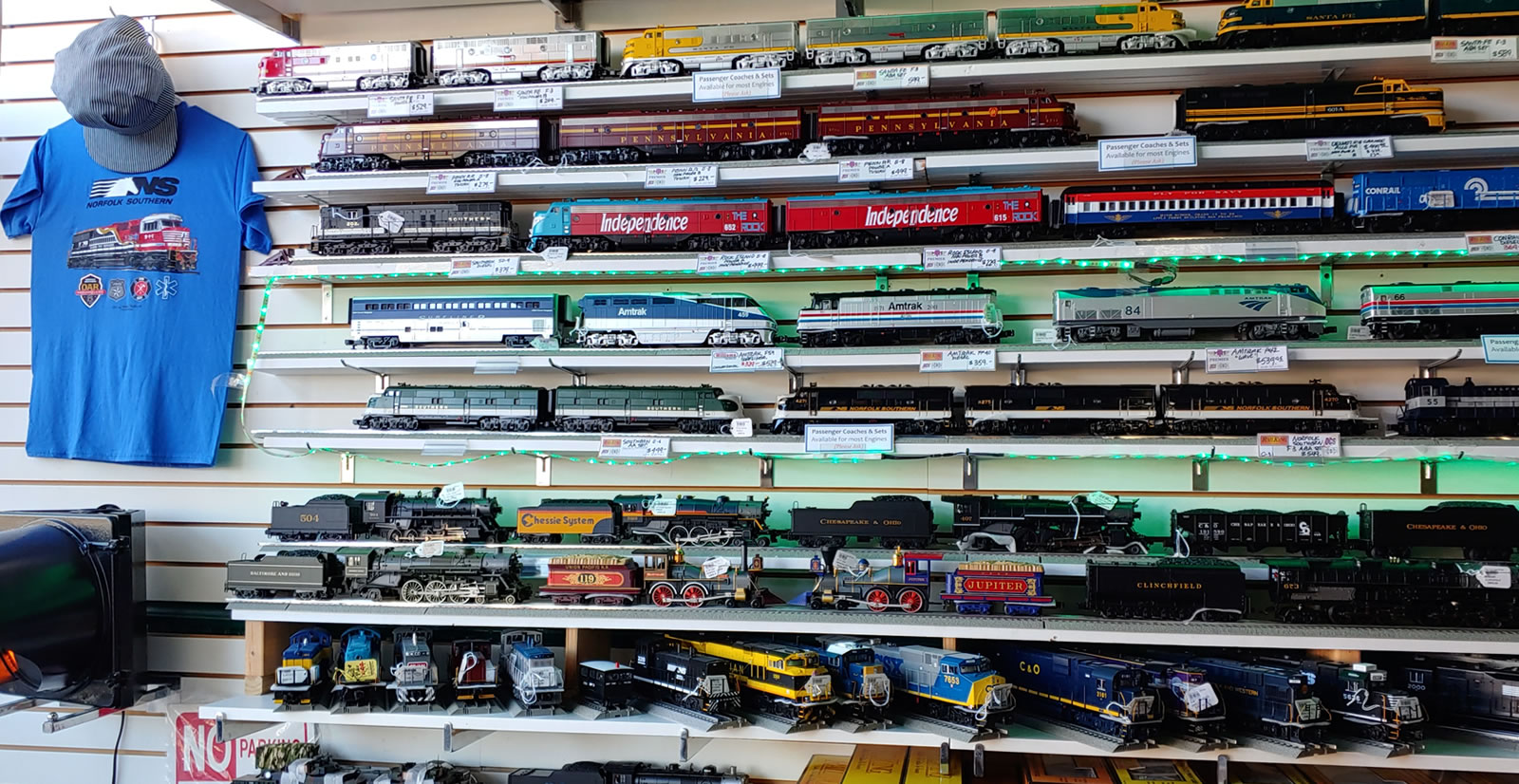 Ashland Trains & Toys