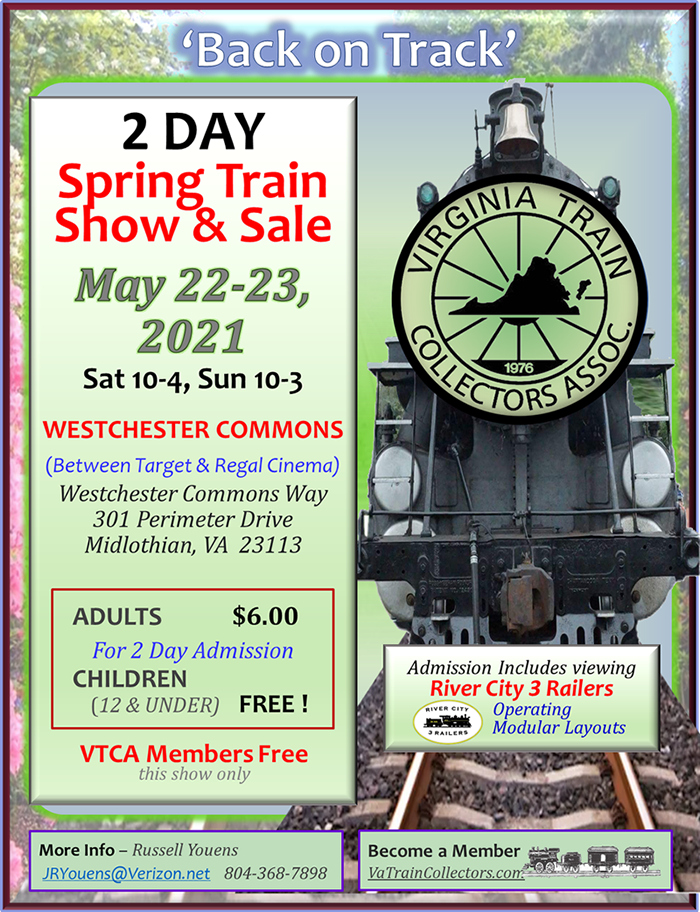 2021 Midlothian Spring Train Show & Sale